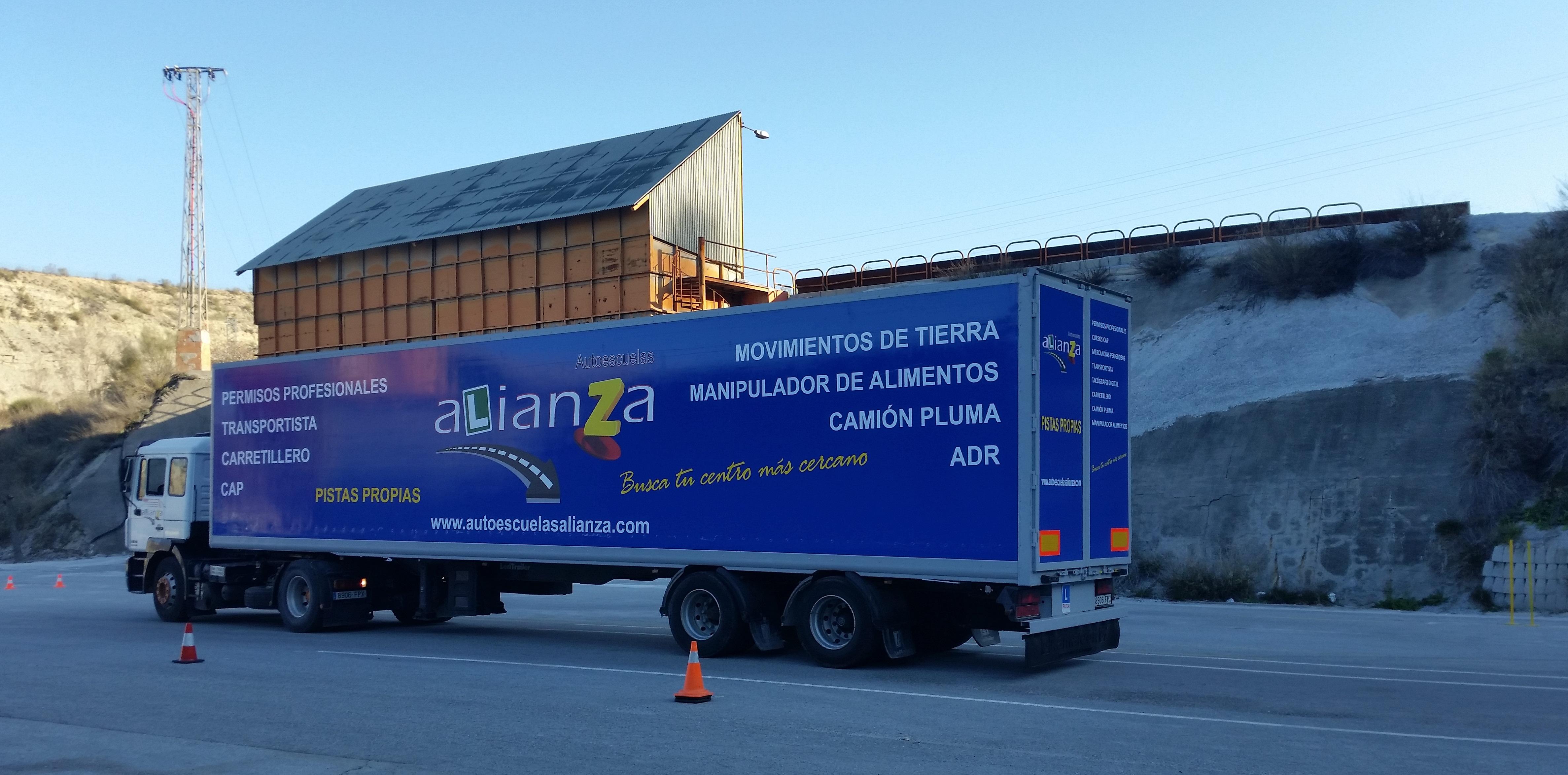Autoescuelas Alianza Permisos Profesionales en Granada